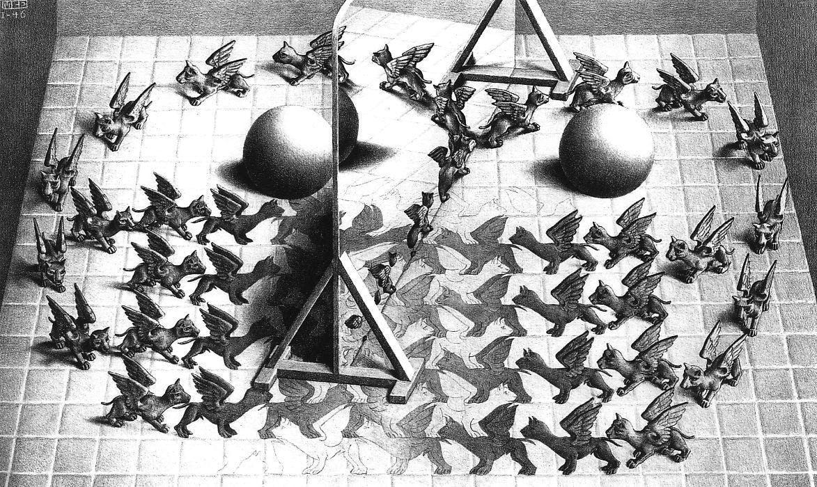 Magic Mirror, 1946.