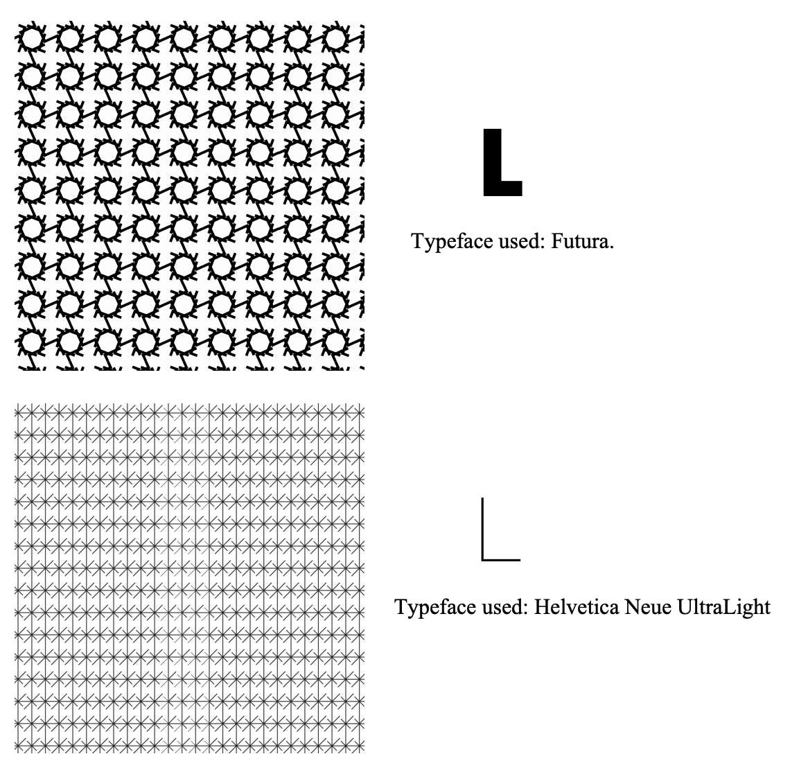 Typographic Patterns.