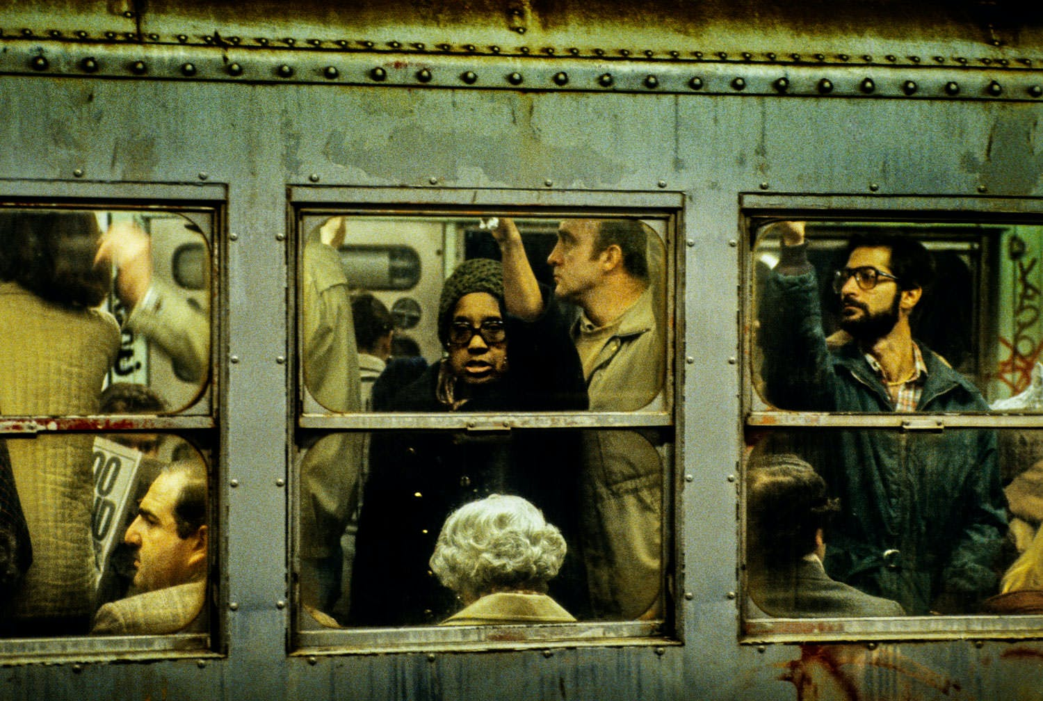 IN FIRST THREE MONTHS OF 1979 EIGHT PEOPLE WERE MURDERED ON THE NEW YORK SUBWAY