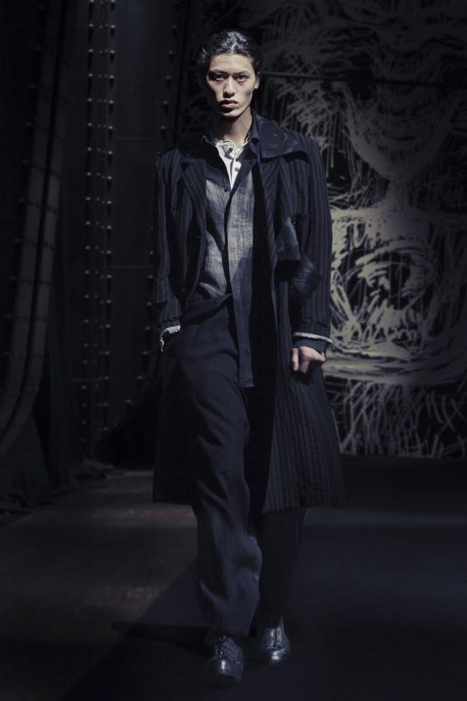 Yohji Yamamoto Pour Homme SS2021.