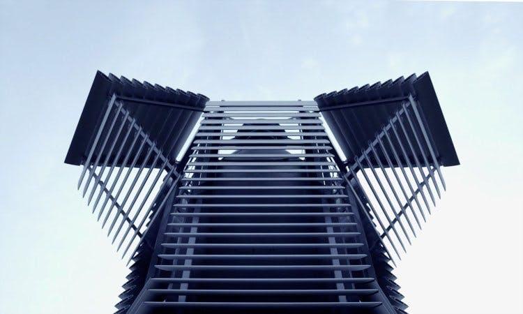 ROOSEGAARDE'S TOWER: CONVERTING SMOG INTO DIAMONDS