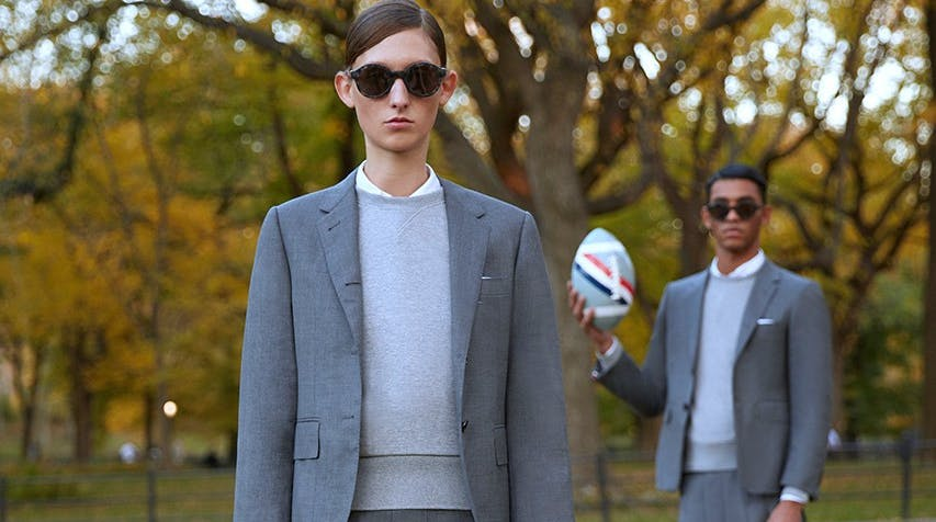THOM BROWNE SPORTSWEAR AND COMPRESSION COLLECTION