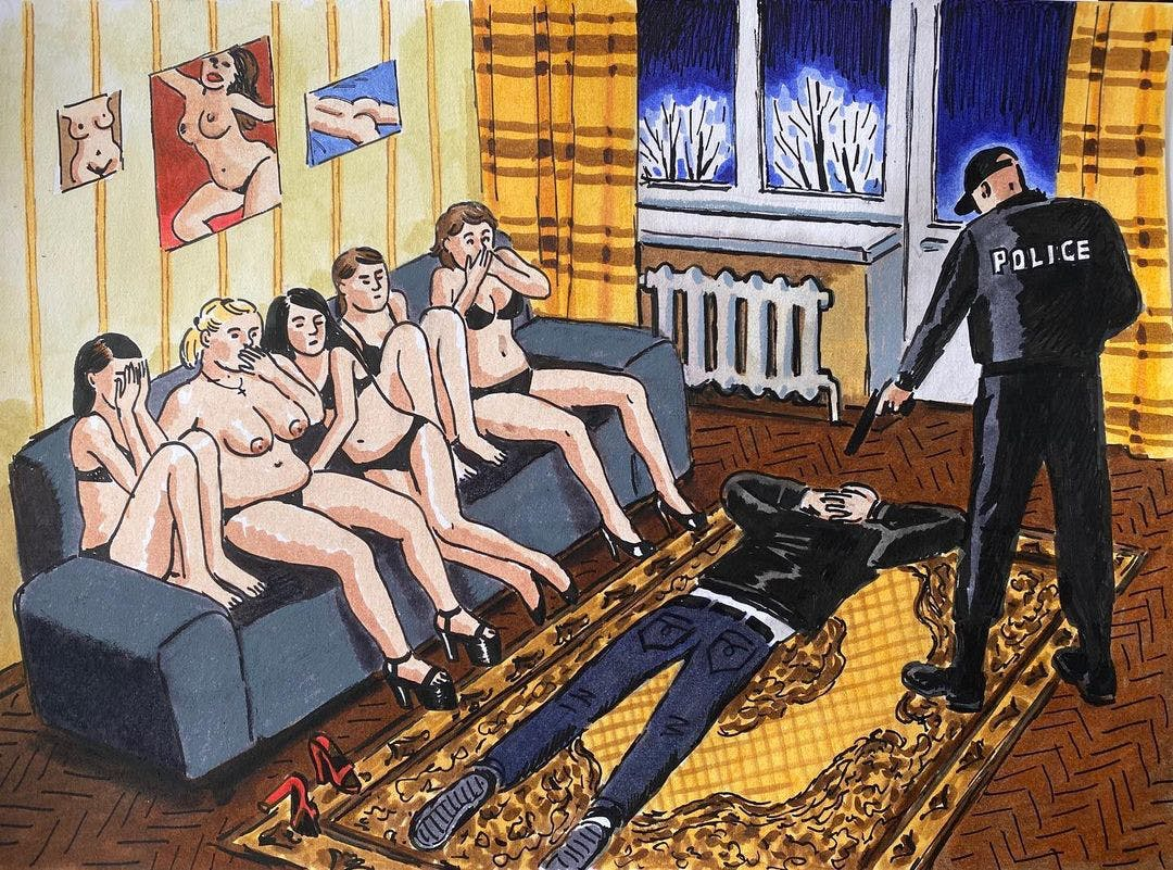 ZOYA CHERKASSKY-NNADI DEPICTS THE STEREOTYPE OF THE RUSSIAN WHORE