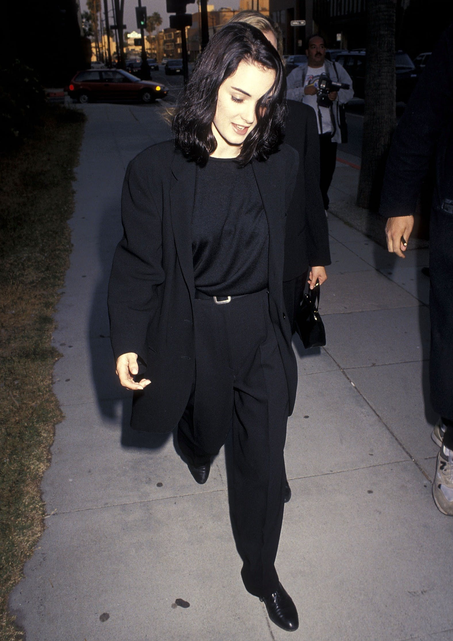 Winona Ryder at the Backdraft Beverly Hills premiere in 1991.
