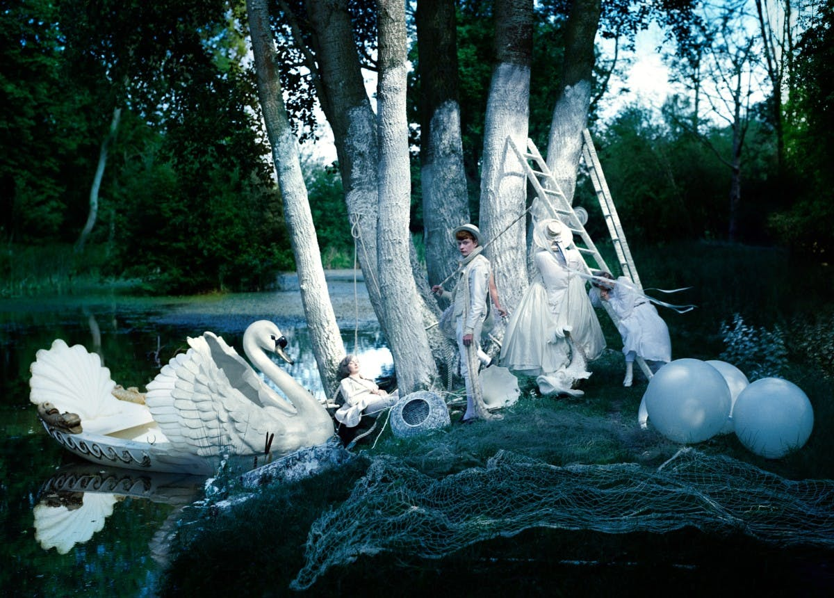 TIM WALKER: HIS SEDUCTIVE IMAGES DEMAND TO BE READ AS MORE THAN FASHION