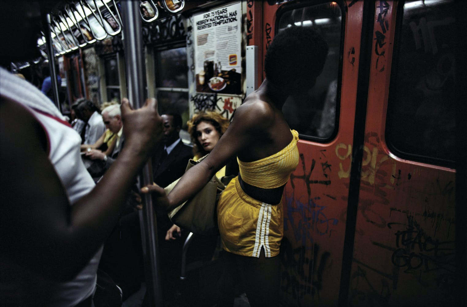 BRUCE DAVIDSON: NEW YORK'S SUBWAY SYSTEM IN THE 1980S