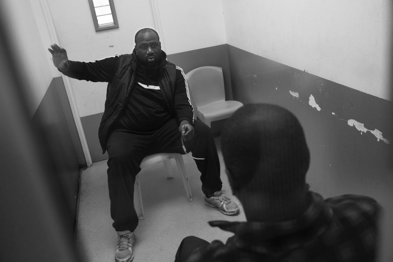 PAOLO PELLEGRIN: INSIDE A FRENCH PRISON