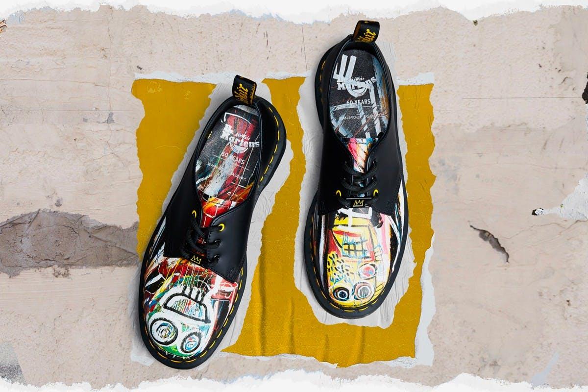 Dr. Martens x Jean-Michel Basquiat.