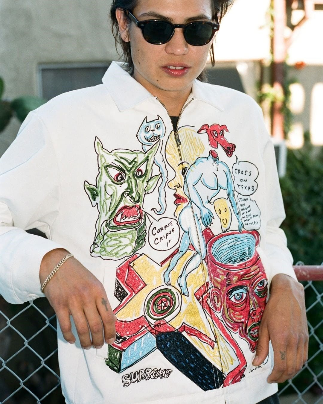 SUPREME X DANIEL JOHNSTON COLLABORATION DROPS THIS WEEK