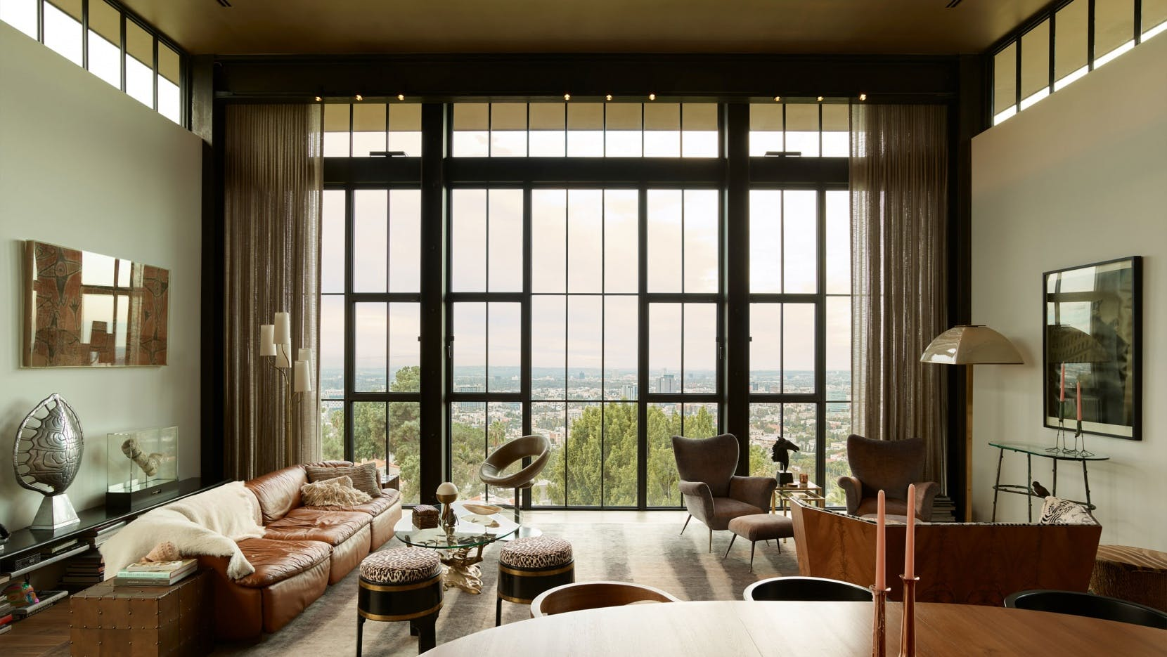 Mia Sara and Brian Henson's Hollywood house by Kristen Becker of Mutuus Studio.