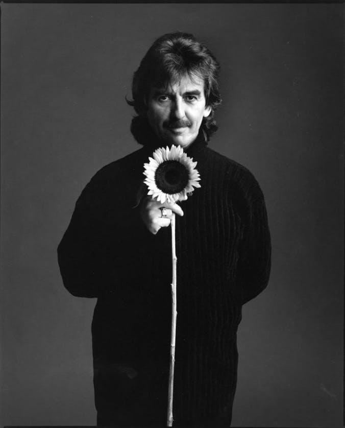 George Harrison by Mark Seliger.