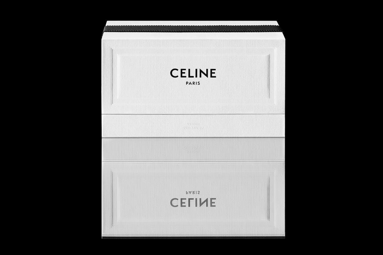 CELINE HAUTE PARFUMERIE'S COFFRET MINIATURE SET EXPLORES HEDI SLIMANE'S OLFACTORY JOURNAL