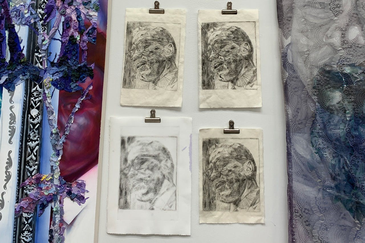 NIKKOLOS MOHAMMED: HOW TO MAKE A DRYPOINT ETCHING