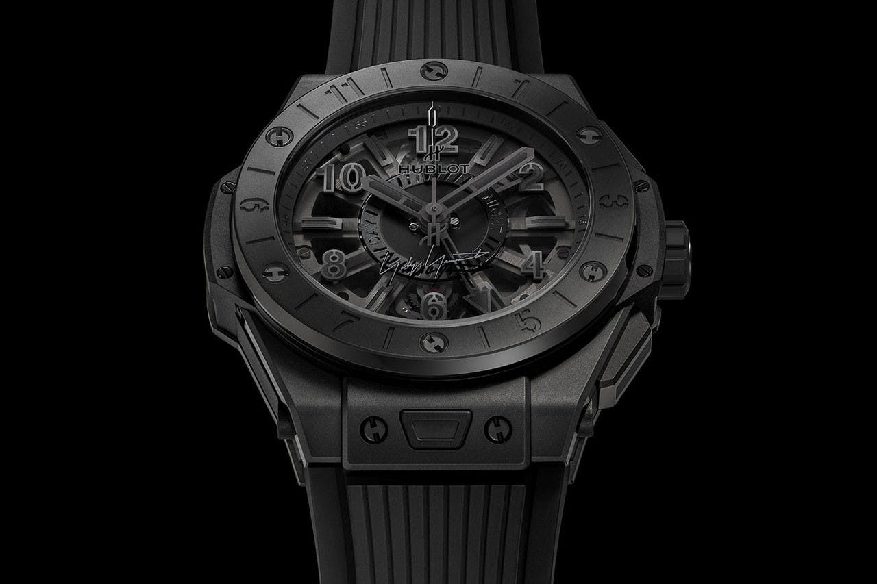 YOHJI YAMAMOTO X HUBLOT: ALL-BLACK BIG BANG WATCH