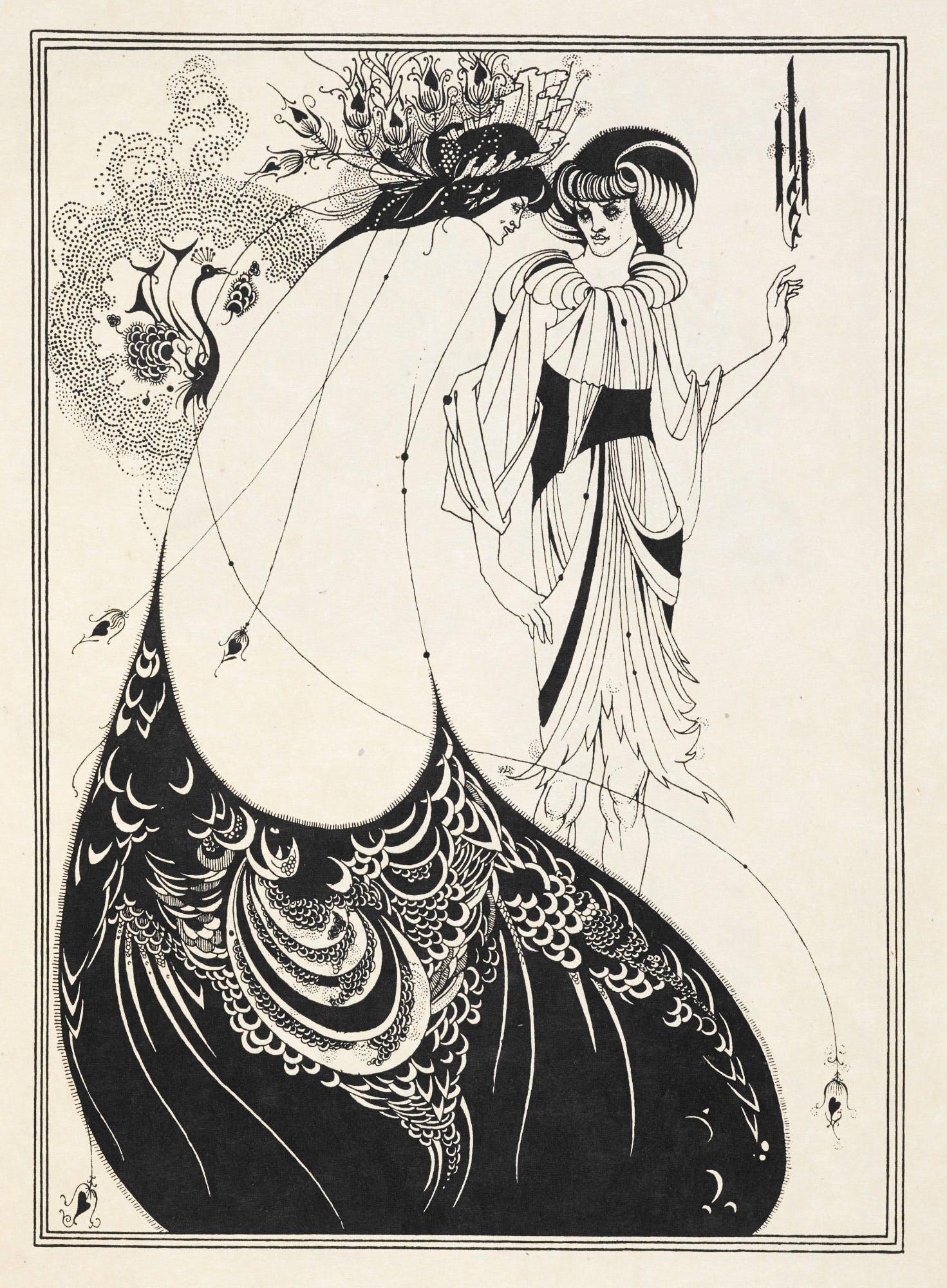aubrey beardsley illustration 4
