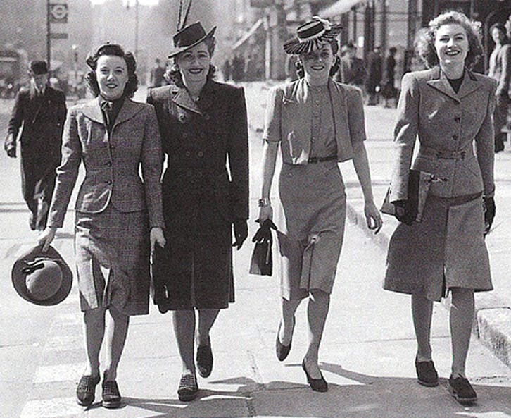 WAR-DROBE: FASHION DURING WORLD WAR II