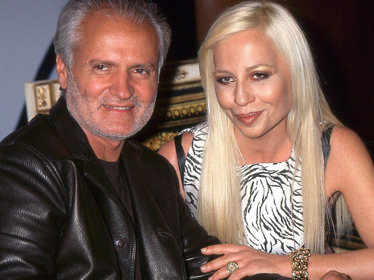 THE DEATH OF GIANNI VERSACE