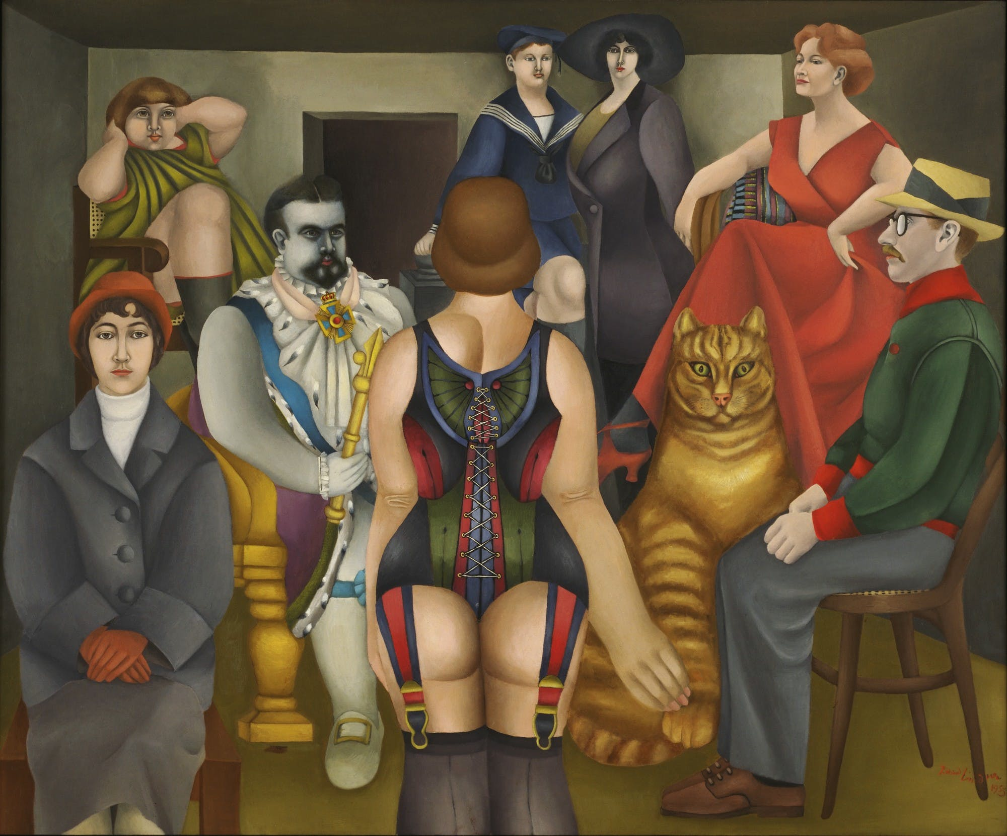 Richard Lindner's Artistic Panorama of the Unruly 60s and 70s of the 20th Century