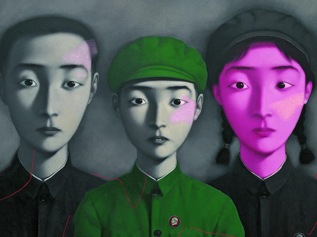 Zhang Xiaogang: Bloodline, Big Family