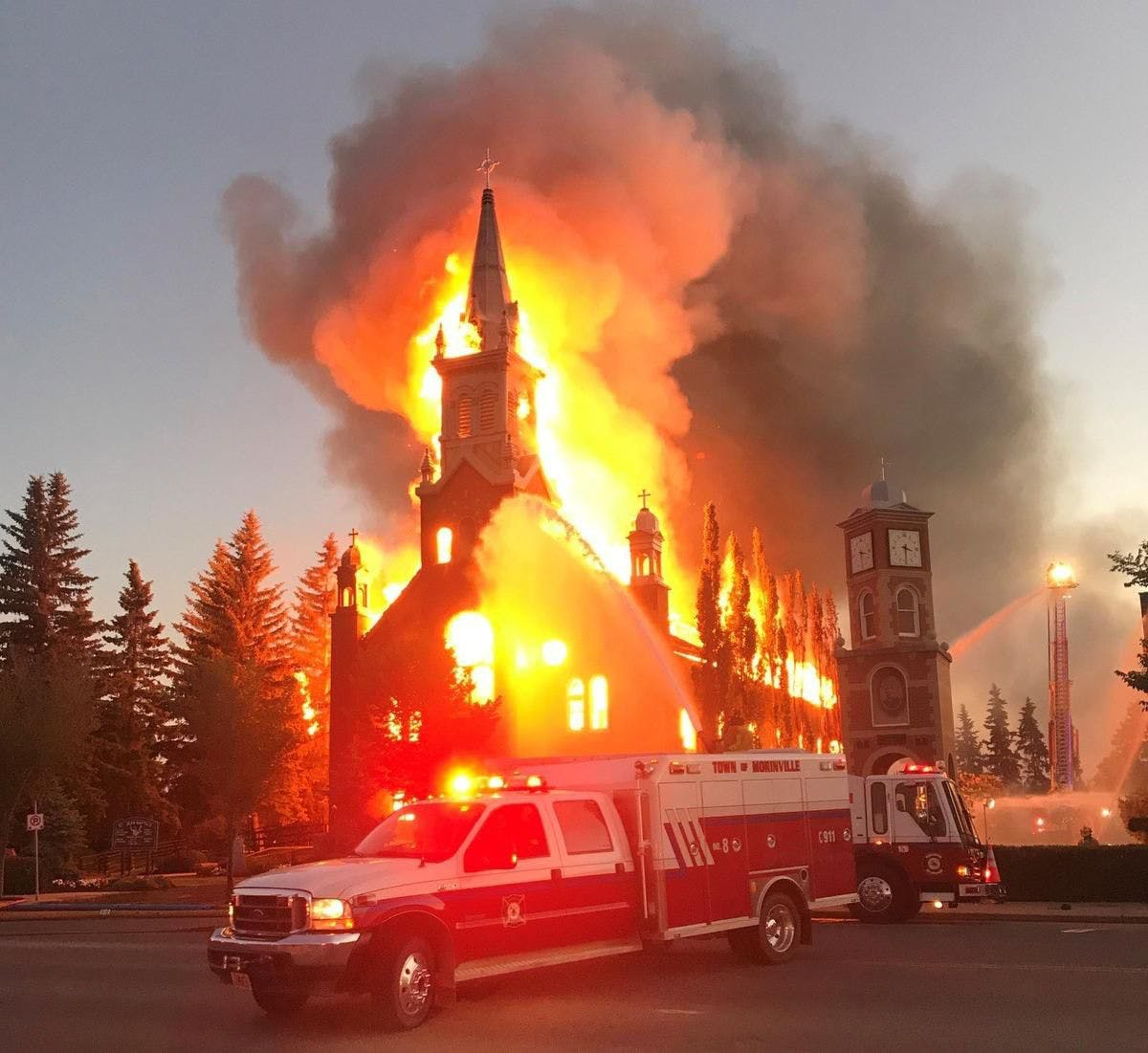 'Not in Solidarity With Us': Indigenous Leaders Call for Church Arsons to Stop