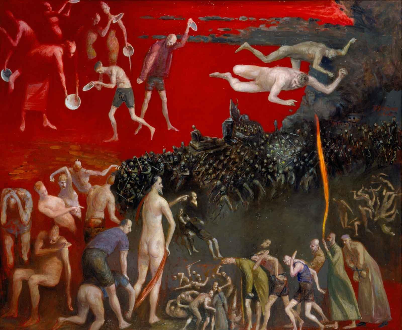 Volker Stelzmann: Seven Bowls of Wrath