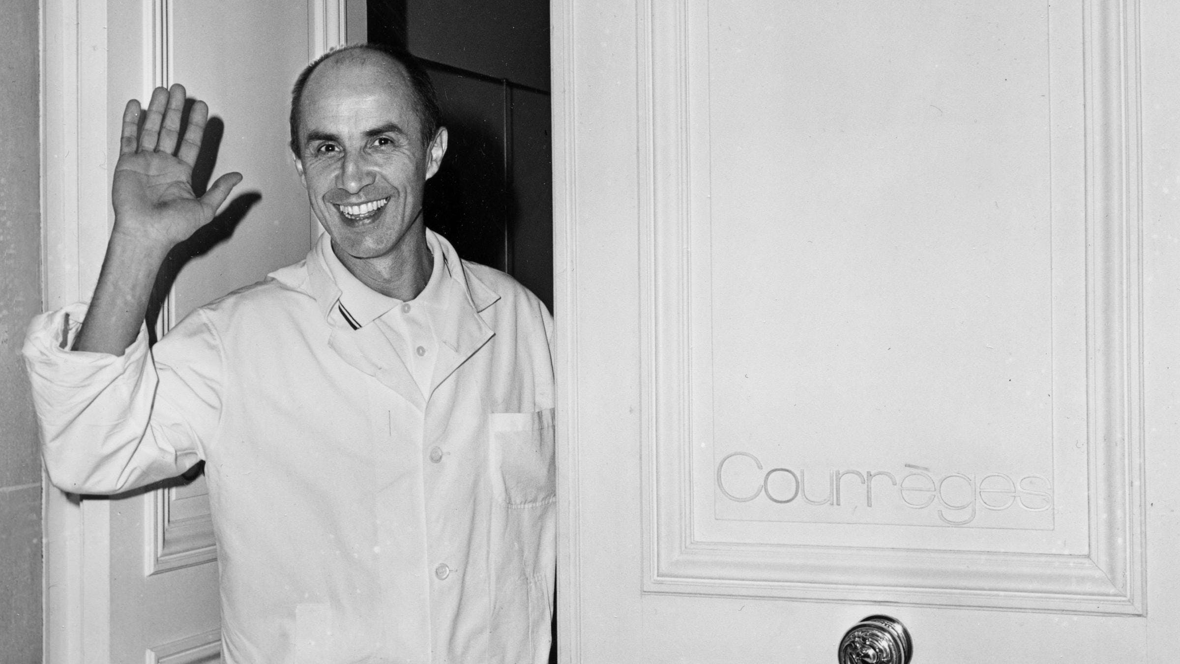 BEFORE COURREGES: ARCHITECT, FRENCH AIR FORCE PILOT, AND DEPUTY OF BALENCIAGA