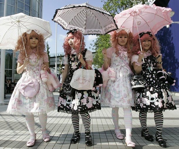 FASHIONS SUCH AS LOLITA IN WESTERN SOCIETIES ARE LARGELY PRE-SEXUAL