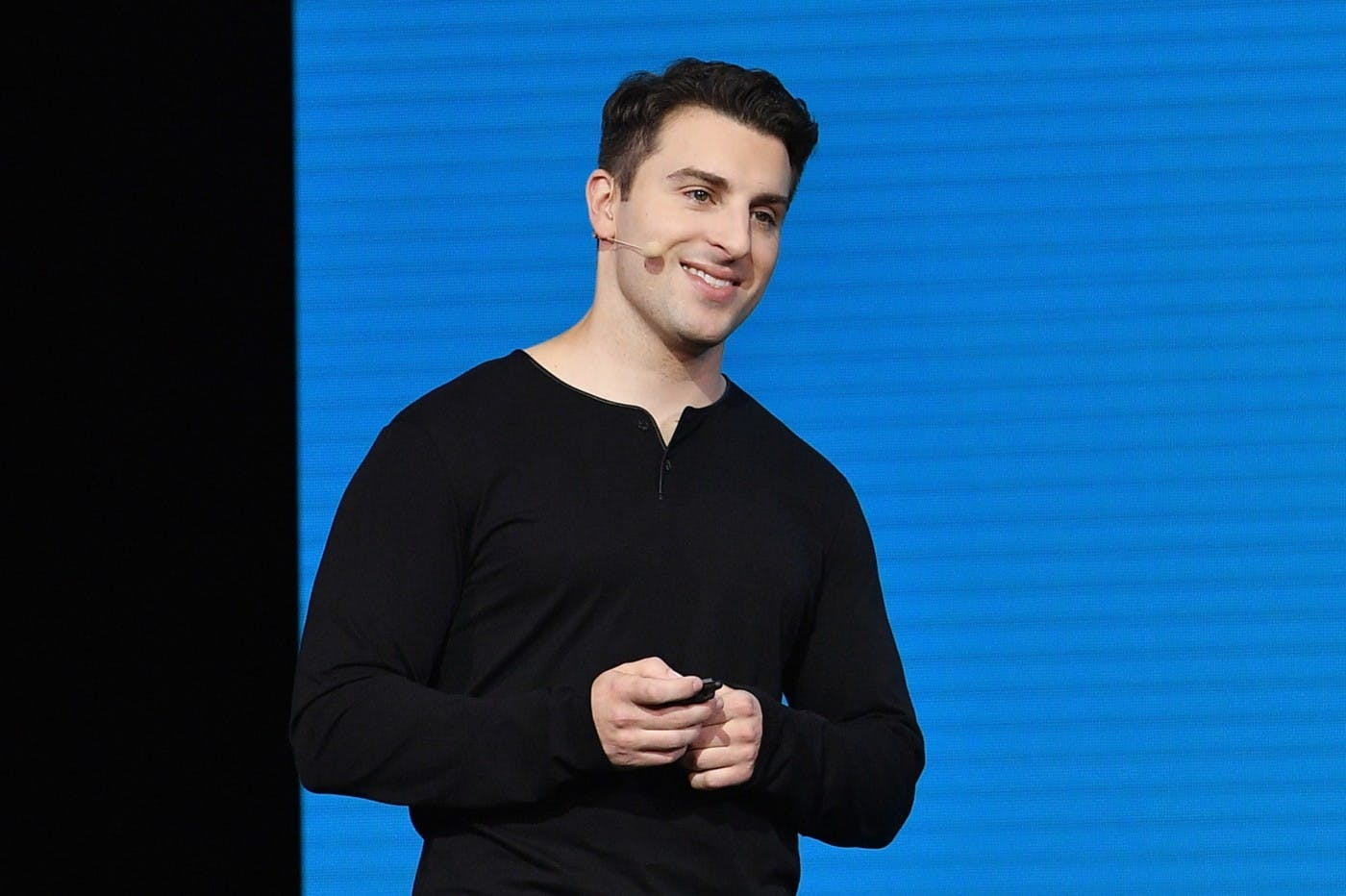AIRBNB'S BRIAN CHESKY: THE TRICK IS TO BE OPTIMISTIC