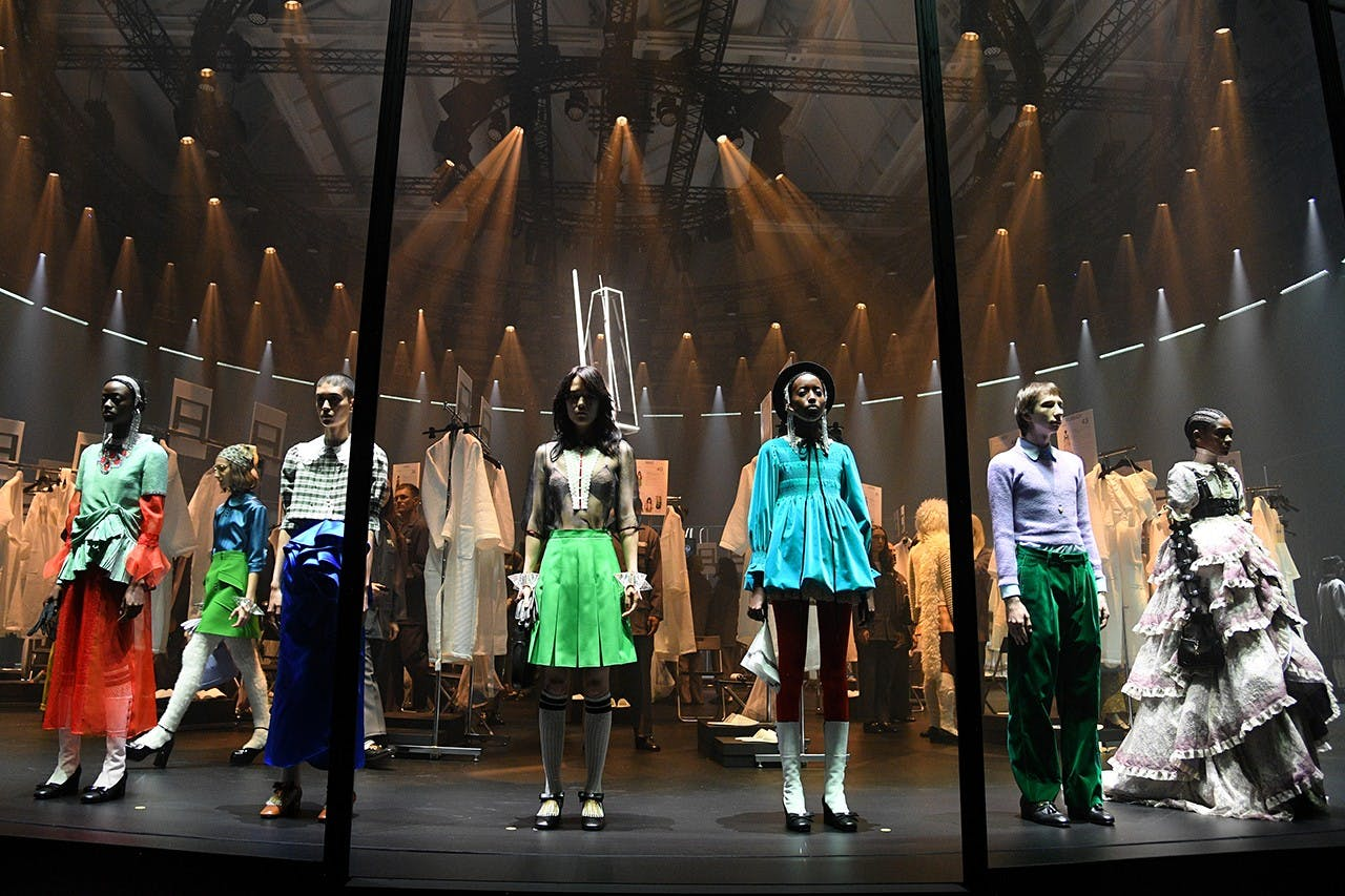 GUCCI AND PRADA'S NEW COLLECTIONS AS VIRTUAL SHOWS