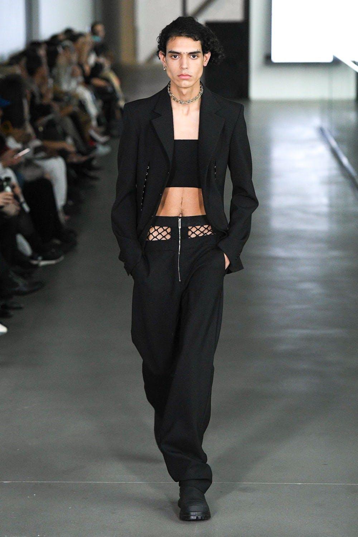 Dio Lee Fall 2020 - Long Masculine Blazer