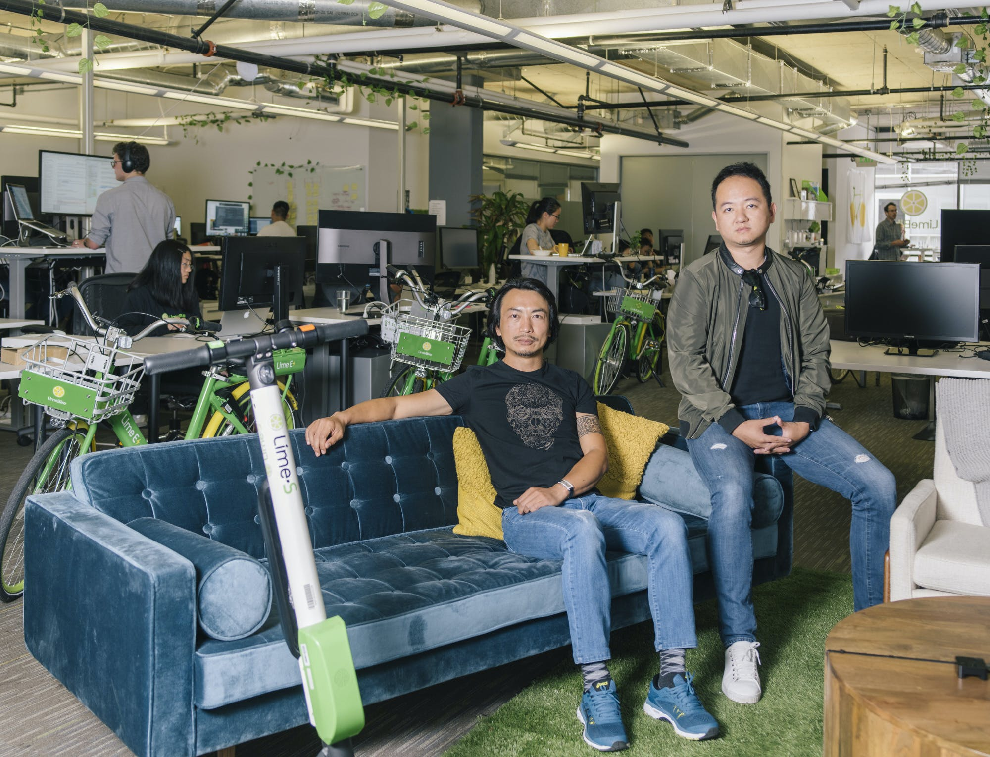 TOBY SUN: THE CEO AND CO-FOUNDER OF LIMEBIKE, A SMART DOCK-LESS BIKE SHARE SYSTEM