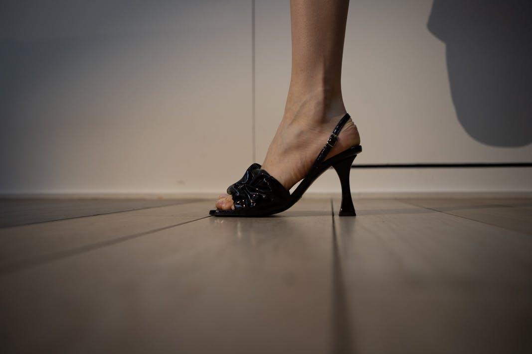 proenza schouler fw20 black heels