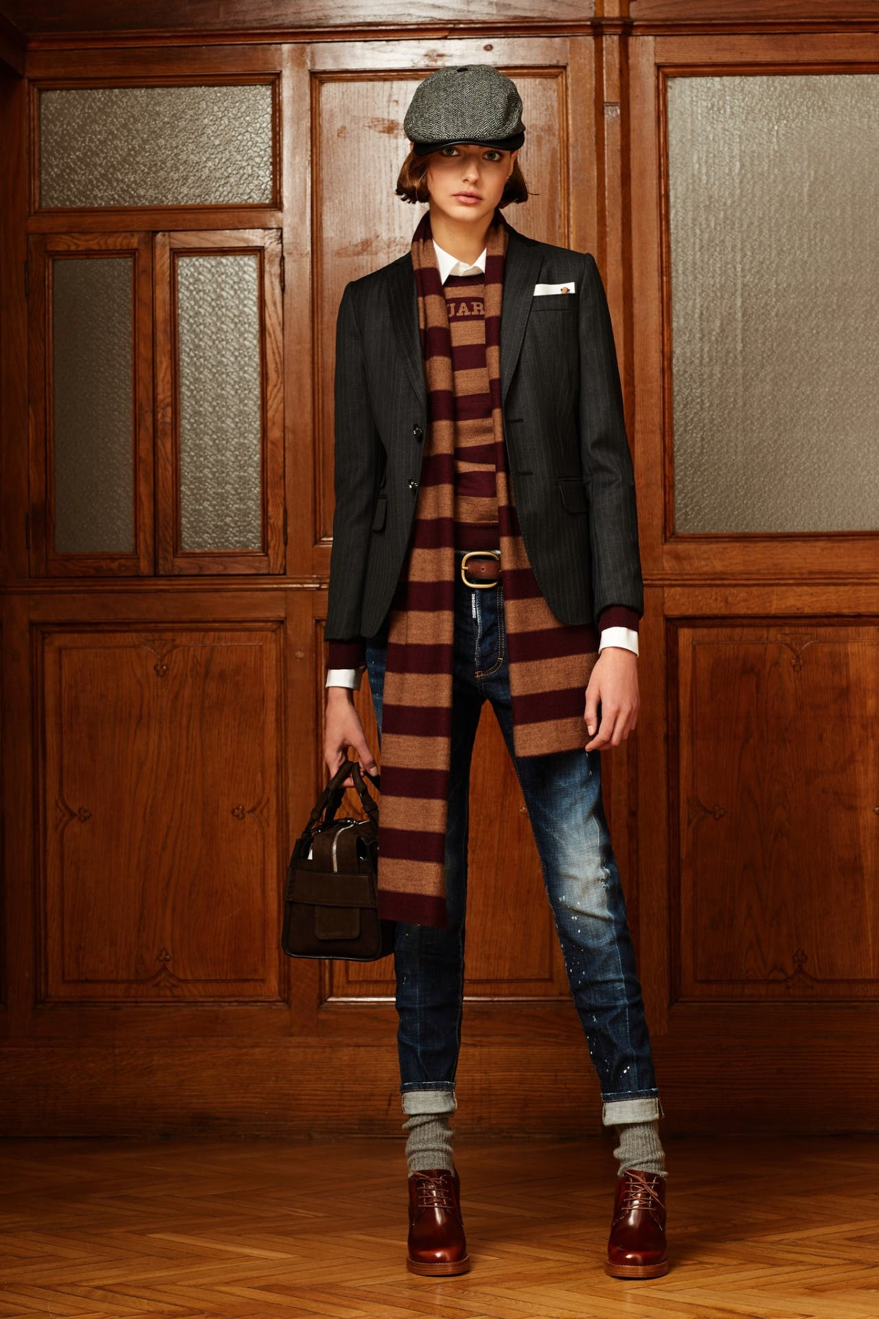 dsquared2 pre fall milan fashion runway backstage pre order showroom trunk show womenswear blazer
