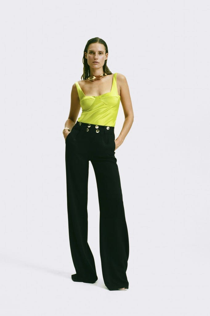 SS19_TOP_1598_SATIN_BUSTIER_LIME_FRONT