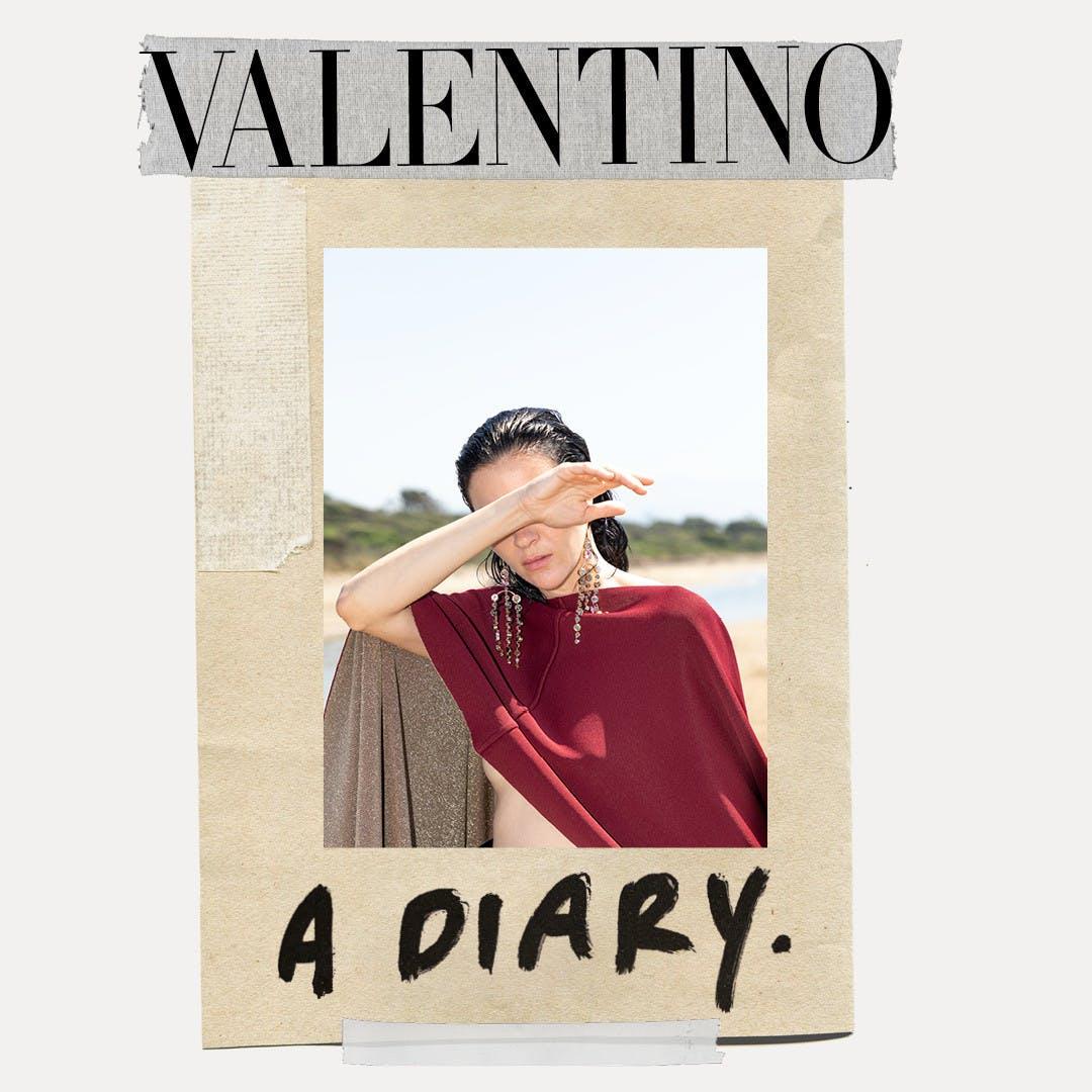 DIARY COLLECTION: VALENTINO RESORT 2021 AD CAMPAIGN