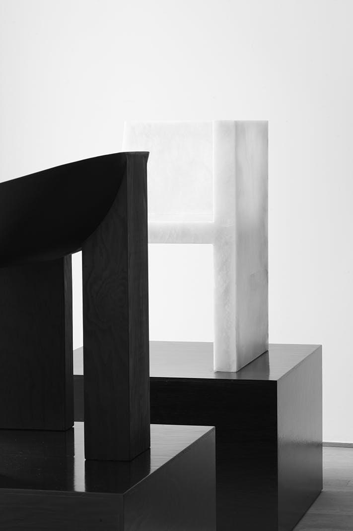 Rick Owens Furniture: Swan And Half Box Chair