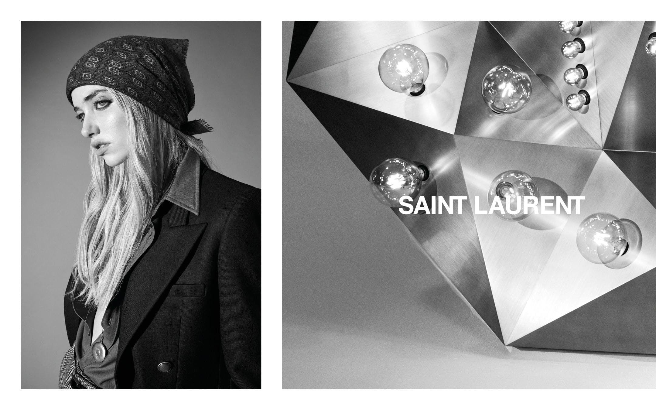 Saint Laurent #YSL33 Fall 2020 Ad Campaign.
