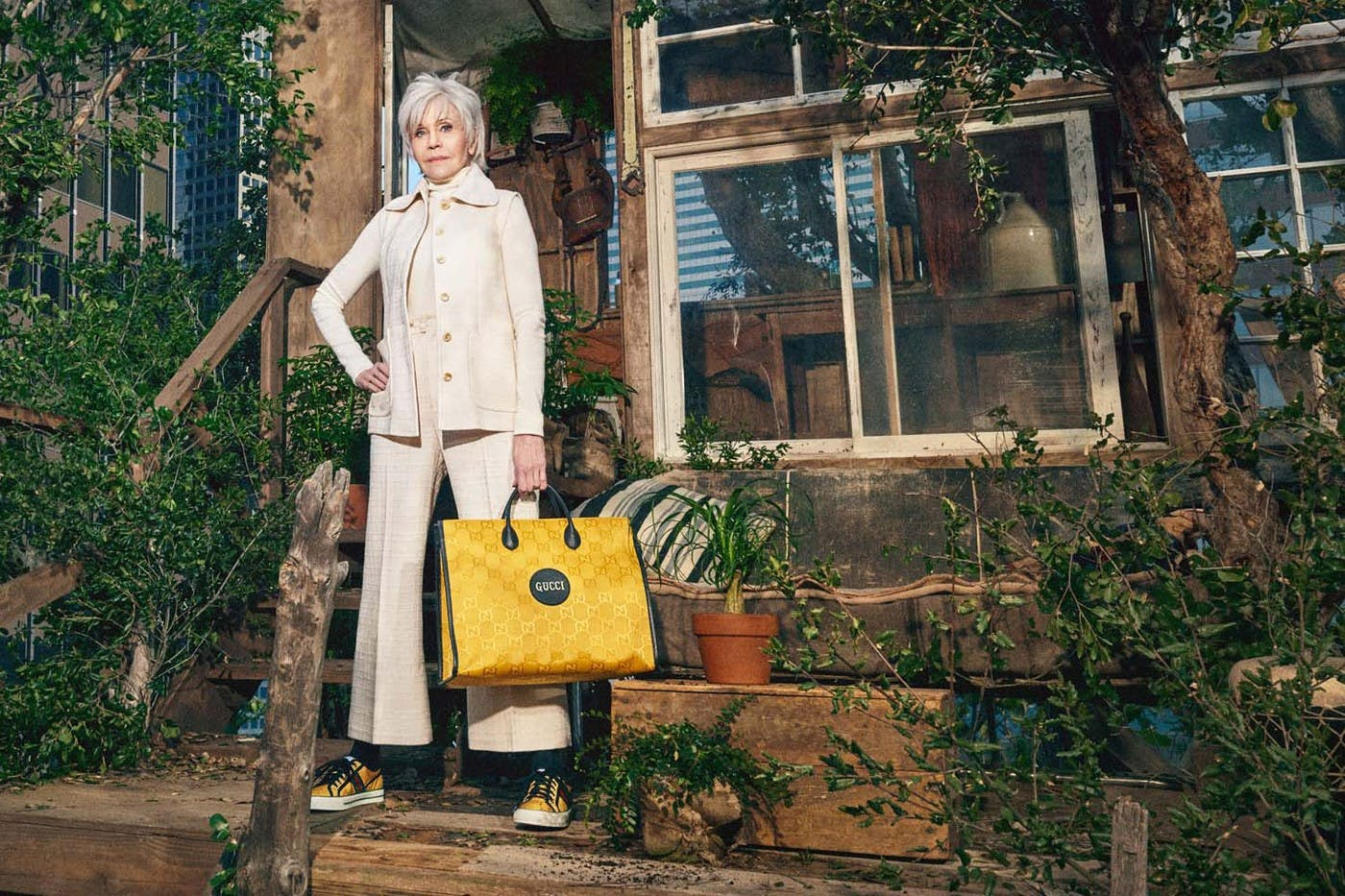 GUCCI'S NEW OFF THE GRID COLLECTION: JANE FONDA, KING PRINCESS AND DAVID DE ROTHSCHILD