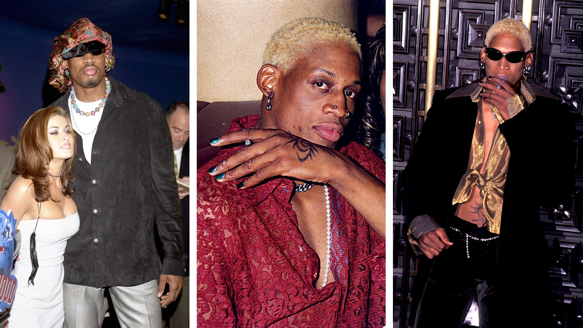 SEVEN ICONIC LOOKS OF DENNIS RODMAN