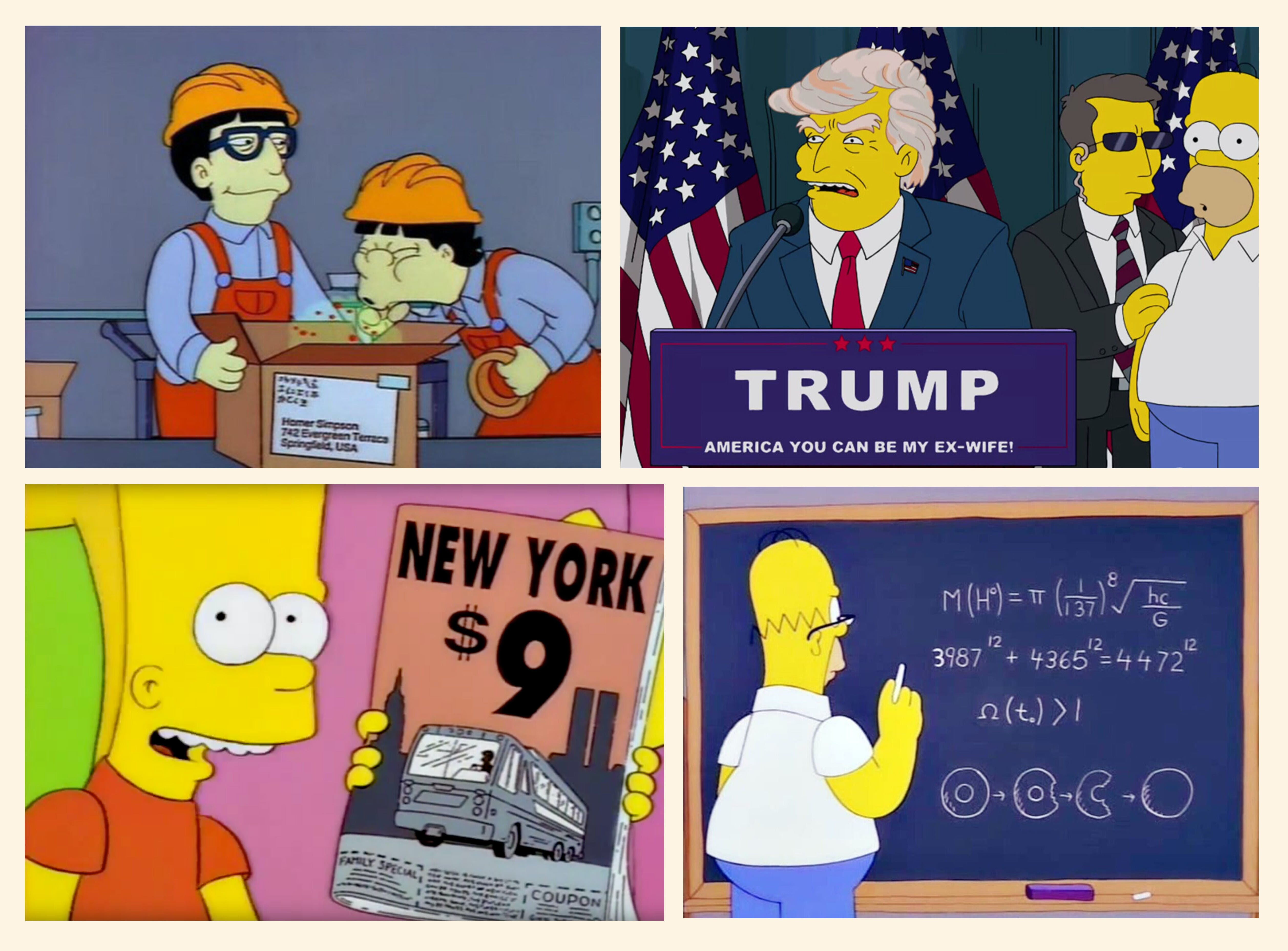 Simpsons: It's All Been There Before