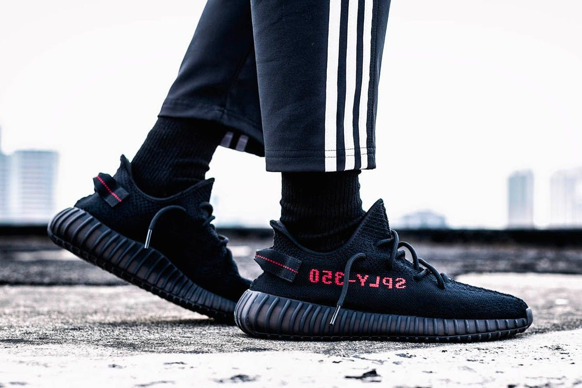 ADIDAS YEEZY BOOST 350 V2 BLACK/RED RUMORED TO BE RE-RELEASED