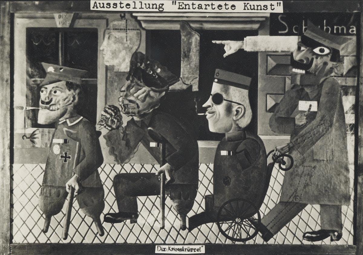 Nazis Against 'Degenerate Art'