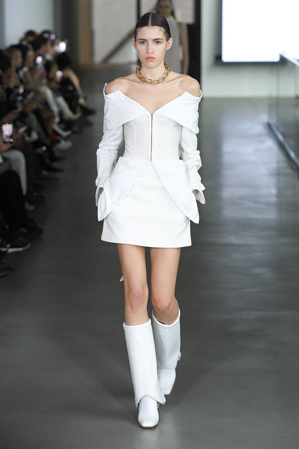 Dio Lee Fall 2020 - Strapless Dress