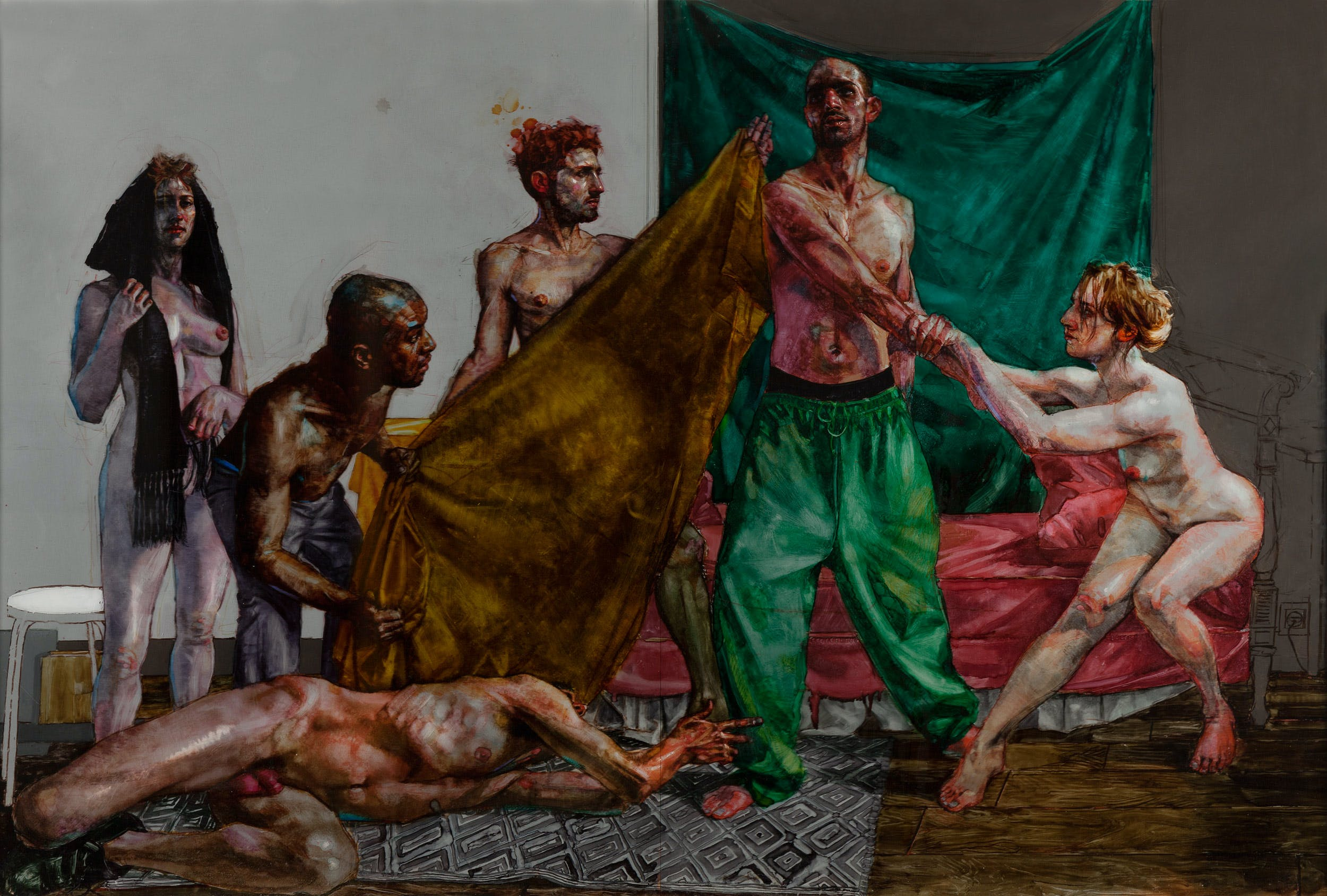 H Craig Hanna: Arrangement of Dancers