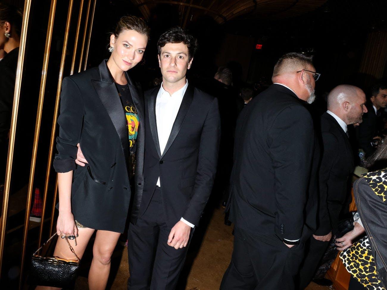 Karlie Kloss and Jared Kushner At An Event