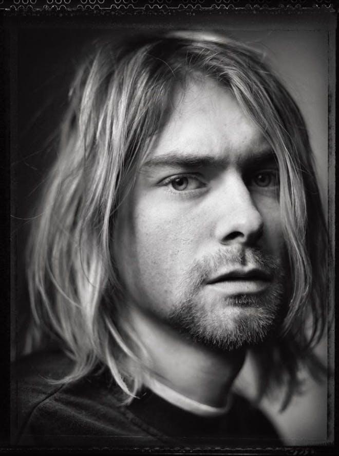Kurt Cobain by Mark Seliger.
