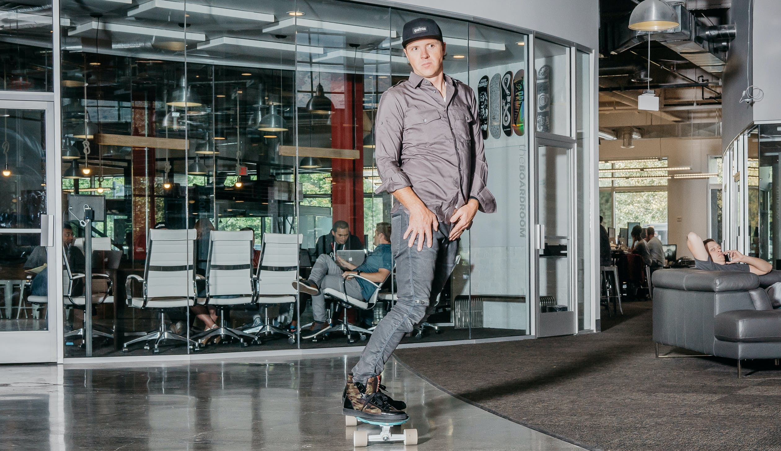 RYAN SMITH: THE CEO AND CO-FOUNDER OF QUALTRICS