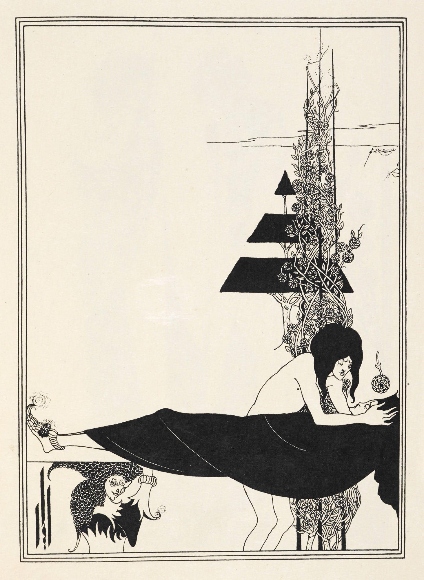 aubrey beardsley illustration 5