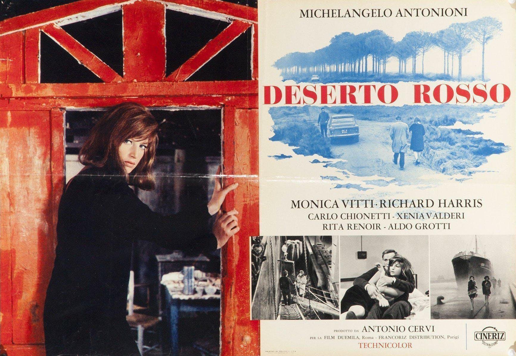 Il Deserto Rosso by Michelangelo Antonioni: Industrial Symphony