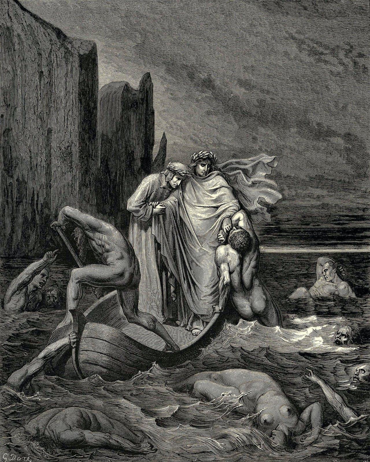 Gustave Dore's Divine Comedy